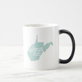 West Virginia State Motto Slogan Magic Mug