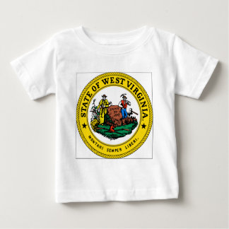 West Virginia State Seal Baby T-Shirt