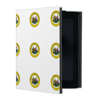 West Virginia State Seal iPad Cases
