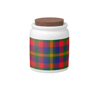 West_Virginia_state_tartan Candy Jar