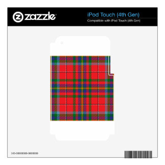 West_Virginia_state_tartan Decals For iPod Touch 4G