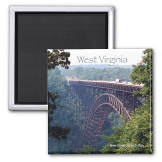 West Virginia State Travel Photo Fridge Magnet