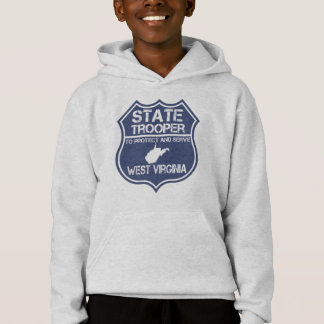 West Virginia State Trooper Protect And Serve Hoodie