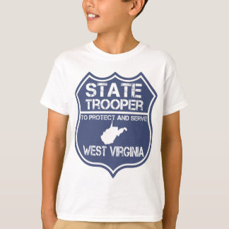 West Virginia State Trooper Protect And Serve T-Shirt