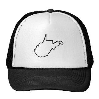 West Virginia State Trucker Hat
