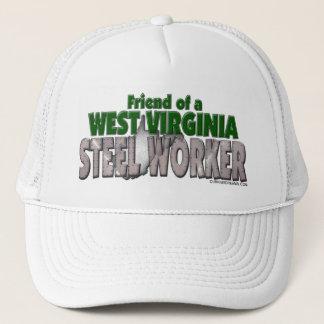 West Virginia Steel Worker Trucker Hat