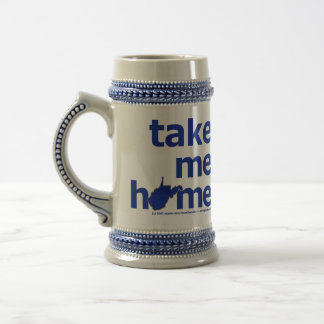 West Virginia Take Me Home Stein