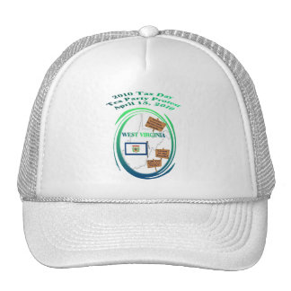 West Virginia Tax Day Tea Party Protest Hat