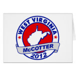 West Virginia Thad McCotter Cards