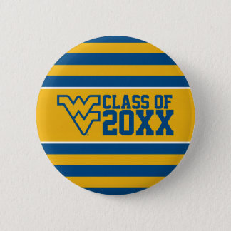 West Virginia University Alumni Class Year Button