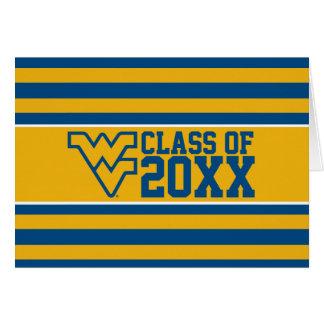 West Virginia University Alumni Class Year Card
