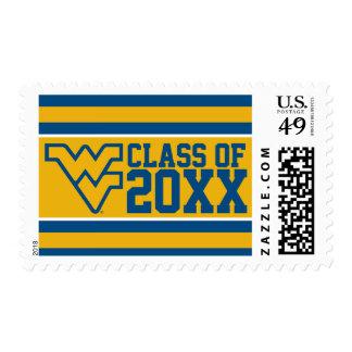 West Virginia University Alumni Class Year Postage