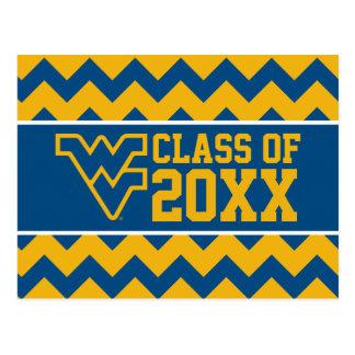 West Virginia University Alumni Class Year Postcard