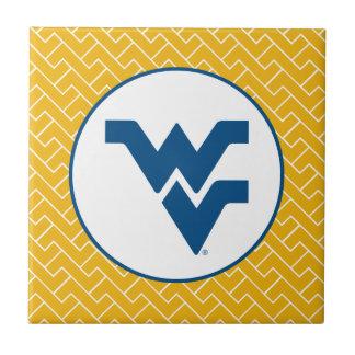 West Virginia University Flying WV Ceramic Tile