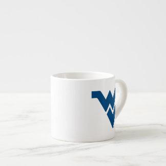 West Virginia University Flying WV Espresso Cup