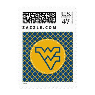 West Virginia University Flying WV Postage