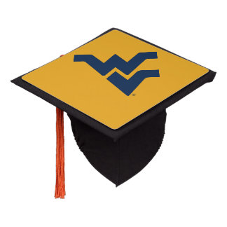 West Virginia University Graduation Cap Topper