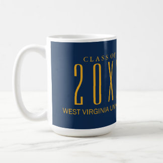 West Virginia University Graduation Coffee Mug