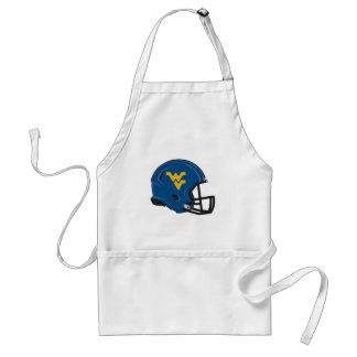West Virginia University Helmet Adult Apron