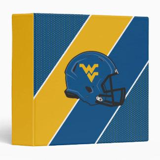 West Virginia University Helmet Binder