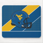 West Virginia University Helmet Mouse Pad