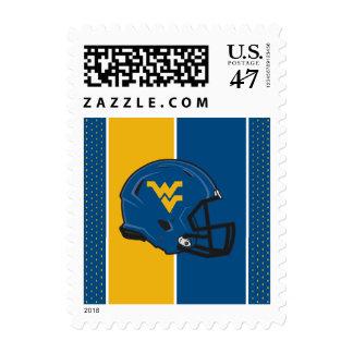 West Virginia University Helmet Postage