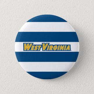West Virginia University Logo Pinback Button