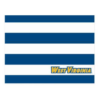 West Virginia University Logo Postcard