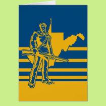 West Virginia University Mountaineers Card
