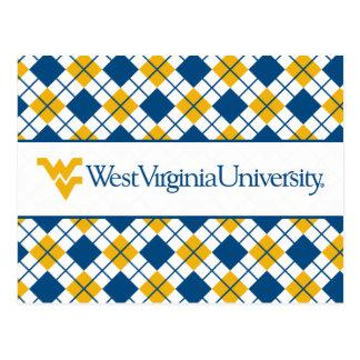 West Virginia University Postcard