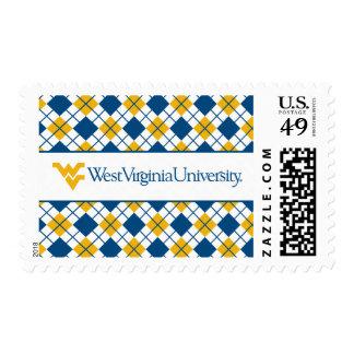 West Virginia University Stamp