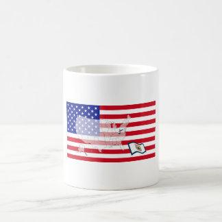 West Virginia, USA Coffee Mug
