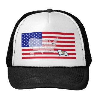 West Virginia, USA Trucker Hat