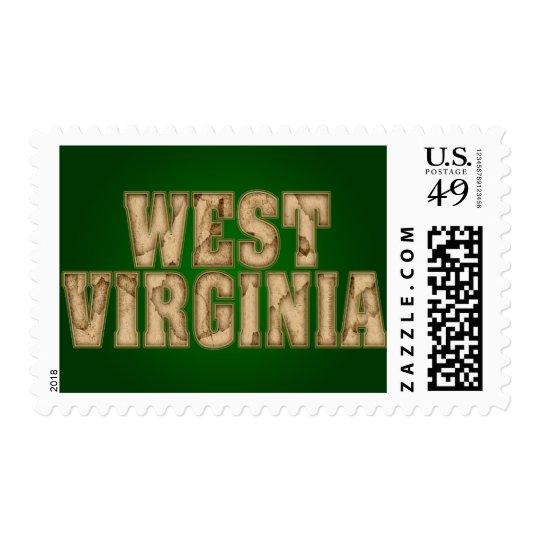 West Virginia Vintage Postage