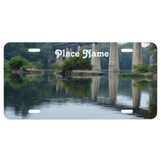 West Virginia Water Way License Plate