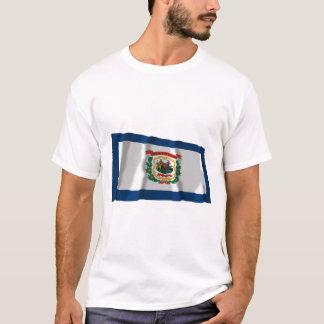West Virginia Waving Flag T-Shirt
