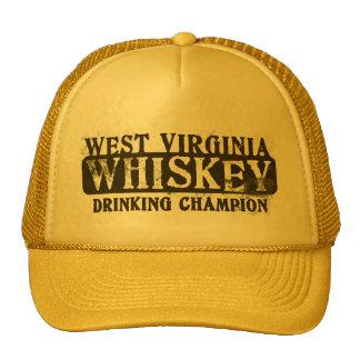 West Virginia Whiskey Drinking Champion Trucker Hat