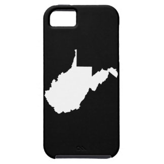 West Virginia White and Black iPhone SE/5/5s Case