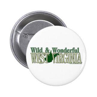 West Virginia Wild and Wonderful_2 Button