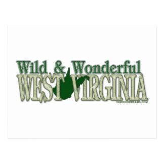 West Virginia Wild and Wonderful_2 Post Cards