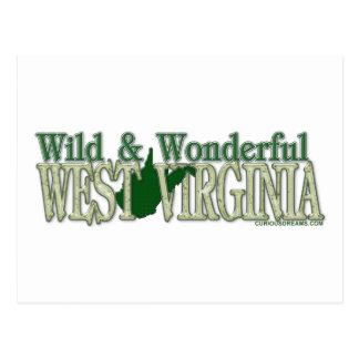 West Virginia Wild and Wonderful_2 Postcard