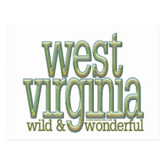 West Virginia-wild and wonderful_8 Postcards
