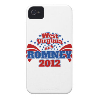 West Virginia with Romney 2012 iPhone 4 Cases