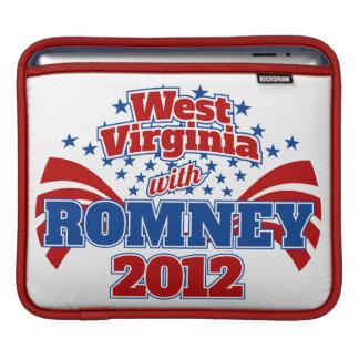 West Virginia with Romney 2012 iPad Sleeves