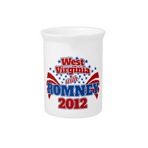 West Virginia with Romney 2012 Pitcher