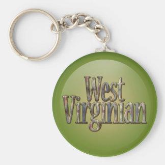 West Virginian_2 Camo Keychain