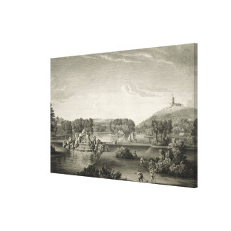 West Wycombe Park, engraved by William Woollett (1 Canvas Print