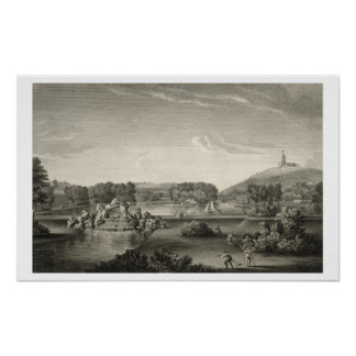 West Wycombe Park, engraved by William Woollett (1 Poster