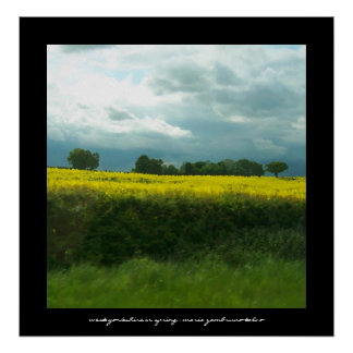 West Yorkshire in spring Poster