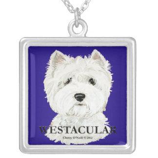 Westacular Necklace Westie Art